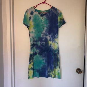fun tye-dye dress